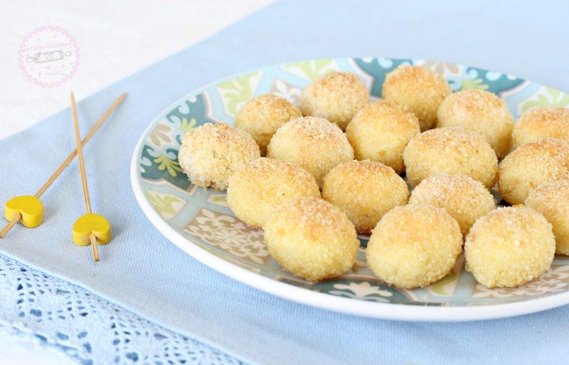 palline di patate al forno
