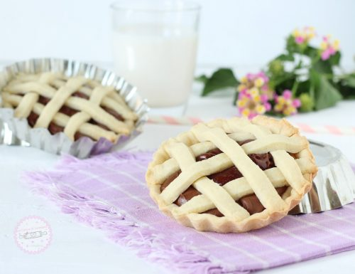 Crostatine con Nutella