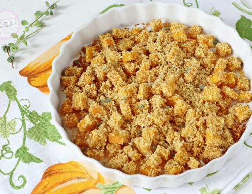 Zucca gratinata in forno