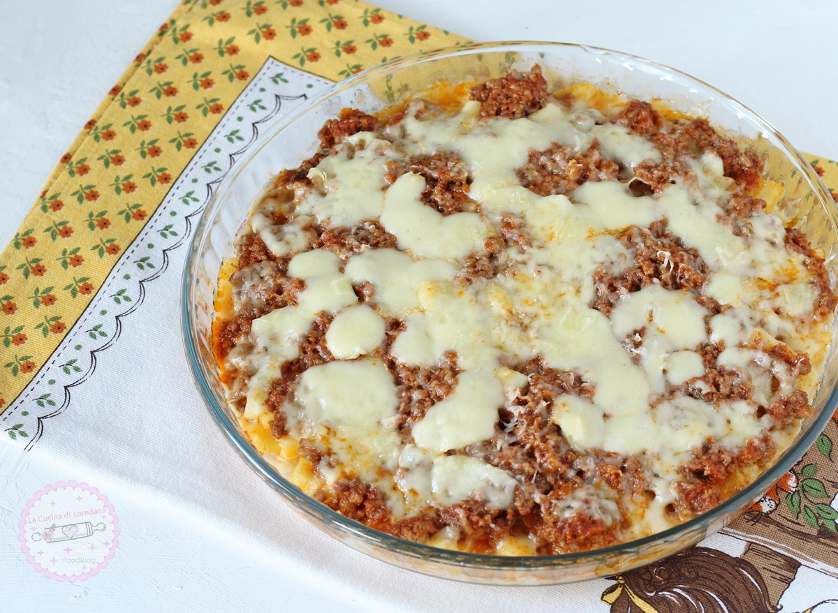 polenta con ragù
