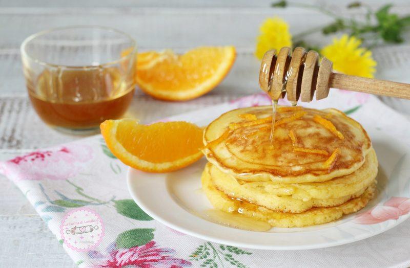 pancake alle arance