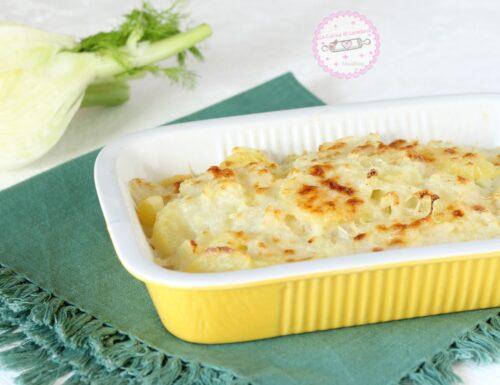 Finocchi e patate al forno