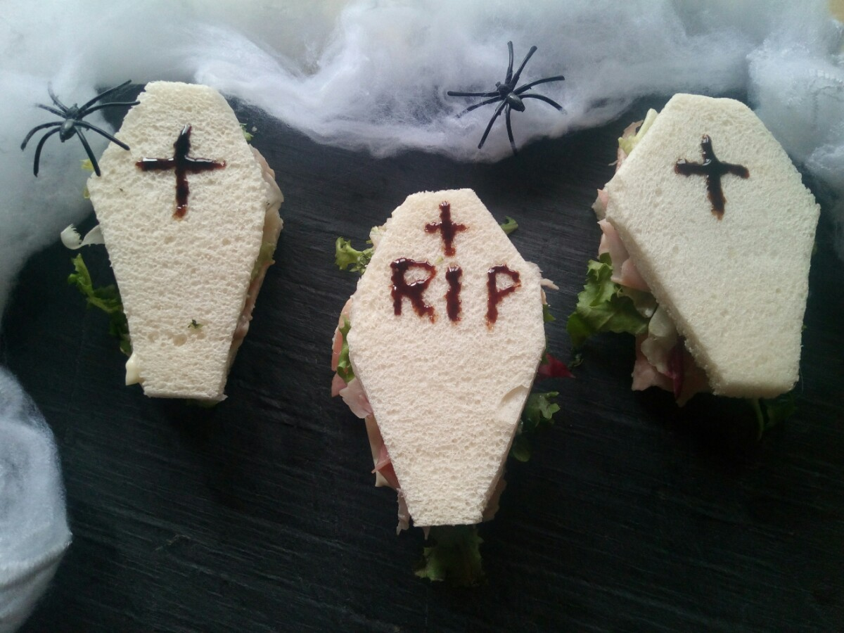 Tramezzini bare di Halloween