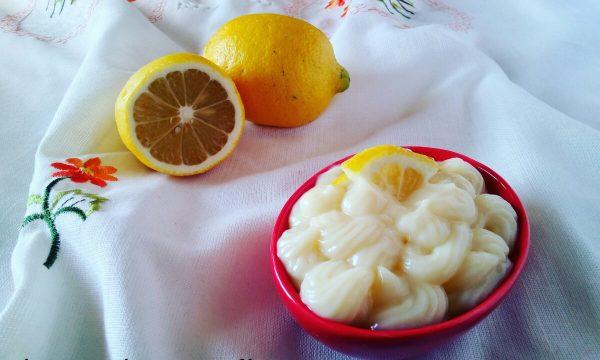 Crema leggera al limone