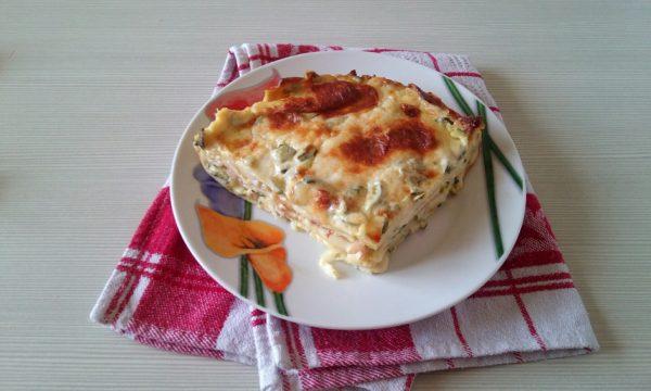 Lasagnetta di crêpes con zucchine