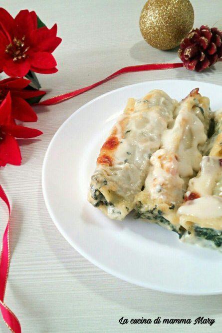 Cannelloni ricotta e spinaci in bianco_2