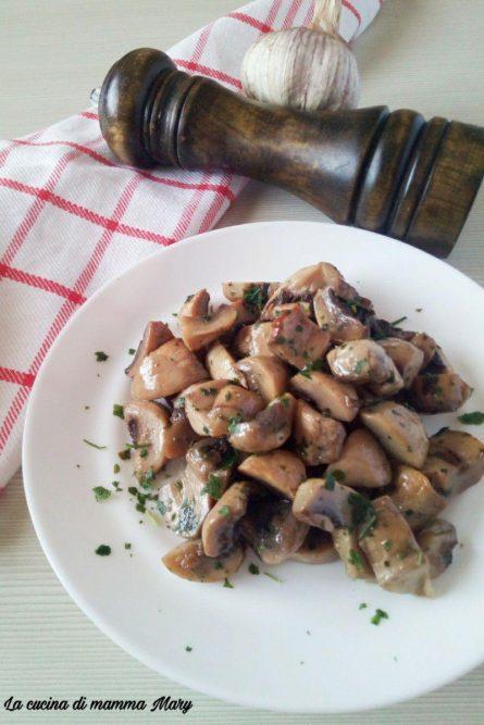 Funghi champignon trifolati al forno_2