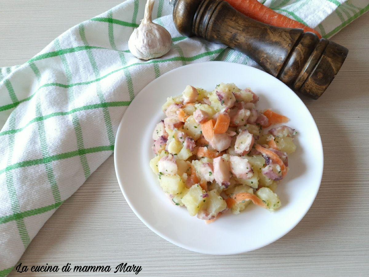 Insalata di totani e patate