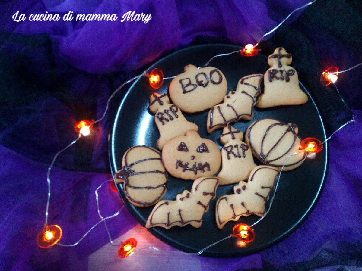Biscotti di Halloween facili