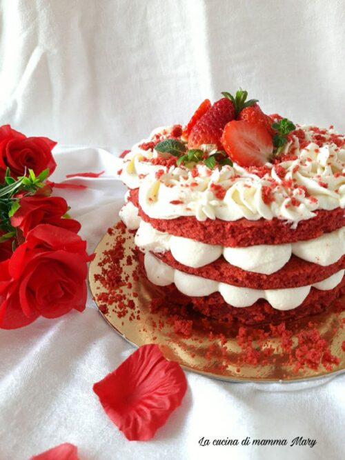 Red Velvet cake con ganache al cioccolato bianco_2