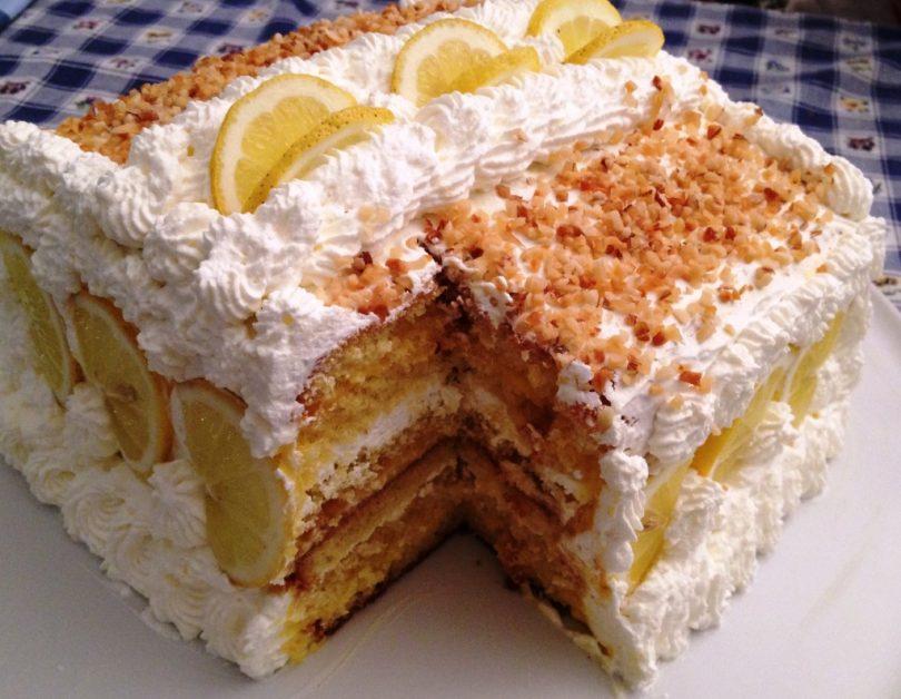 torta al limone ricetta deliziosa