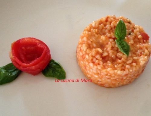 Riso al pomodoro e provola ricetta semplice