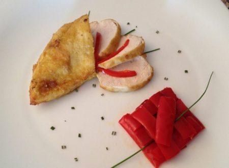 Pollo al curry con peperoni ricetta semplice