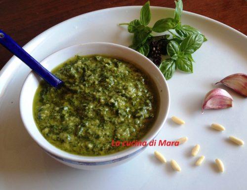 Pesto alla genovese facile