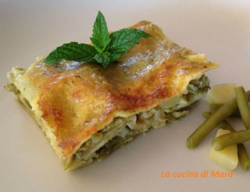 Lasagne al pesto ricetta deliziosa