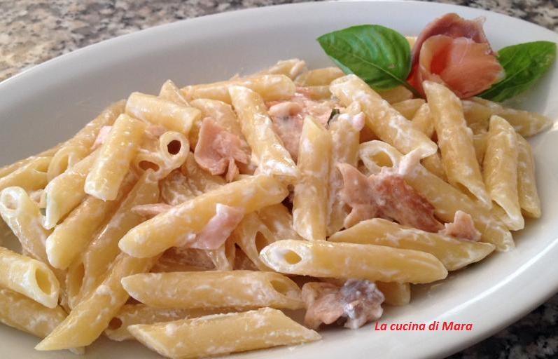 Ricette di pasta con salmone e panna