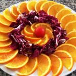 Insalata con arance e radicchio