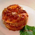 Lasagne al ragù con le crepes ricetta facile