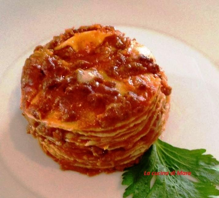 Crepes lasagne ricetta
