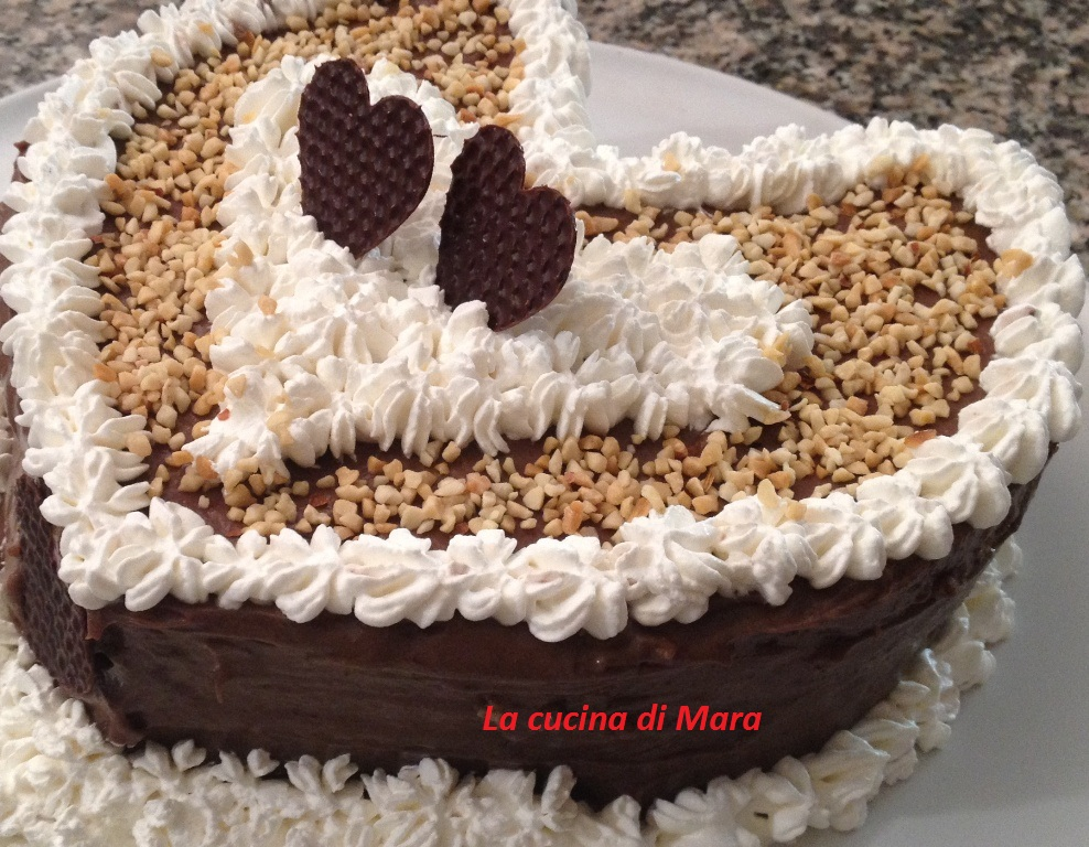 Torta di san valentino ricetta facile e deliziosa for Pensierini di san valentino
