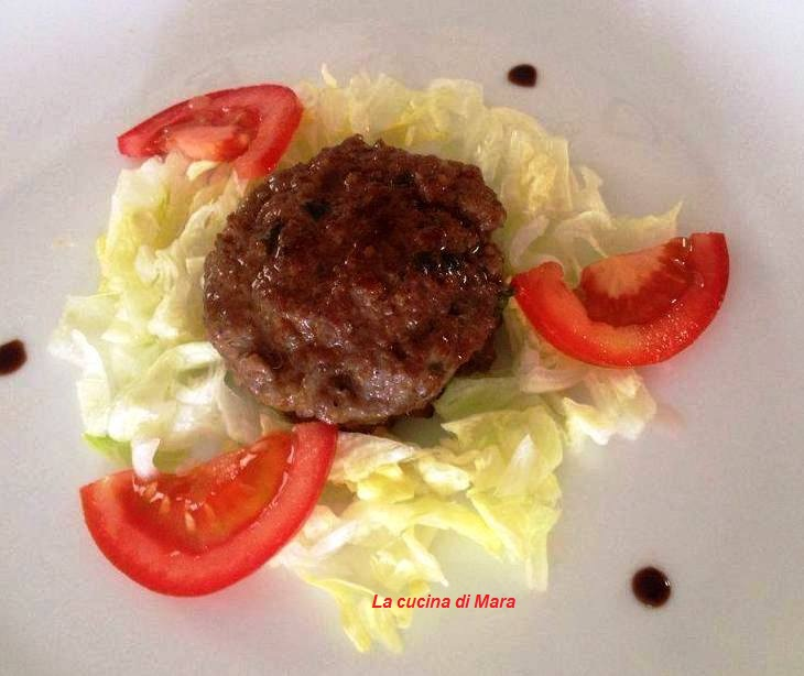 Mini hamburger con salsa di soia