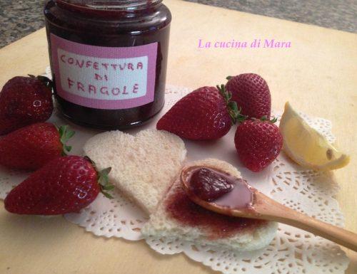Confettura di fragole senza pectina