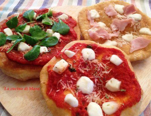 Pizzette fritte tricolore
