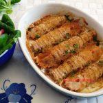 Canocchie gratinate al forno