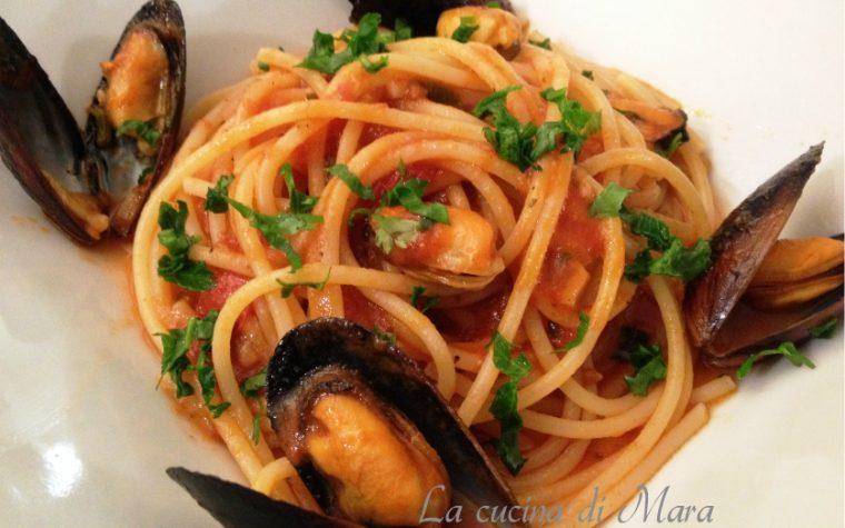 Spaghetti con brodetto di cozze