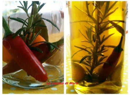 Olio aromatizzato: come realizzarlo in casa