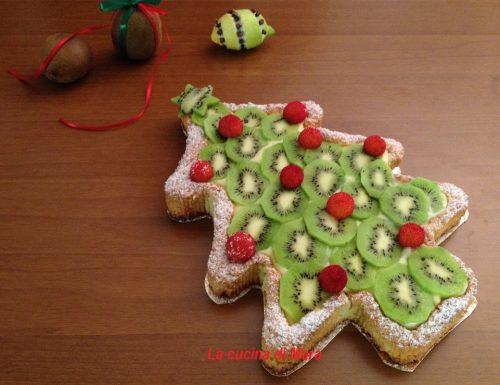Crostata con kiwi e crema al limone