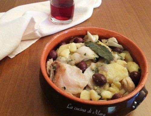 Stocco e patate in bianco: ricetta della cucina calabrese