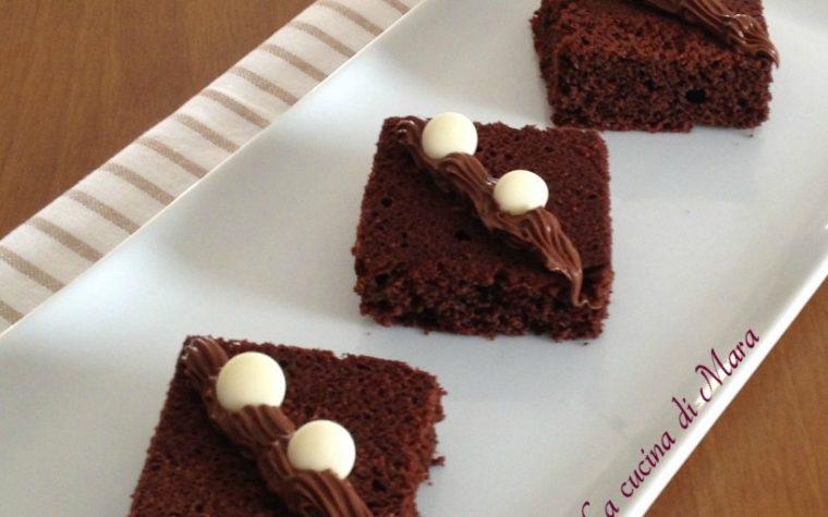 Quadrotti al cioccolato facili e golosi