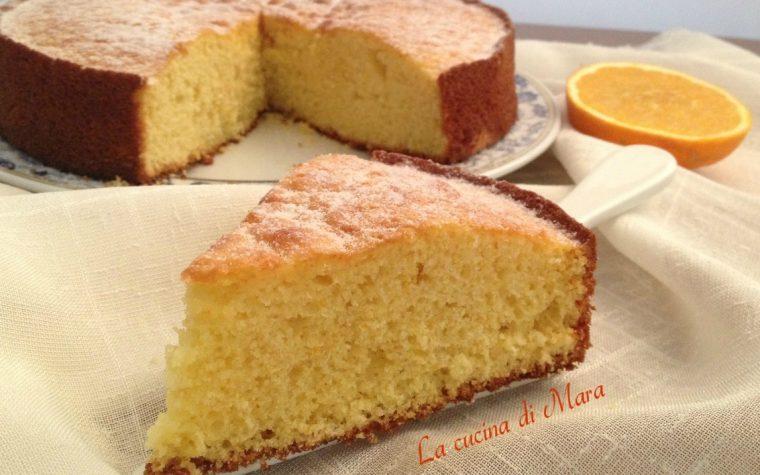 Torta semplice all'arancia