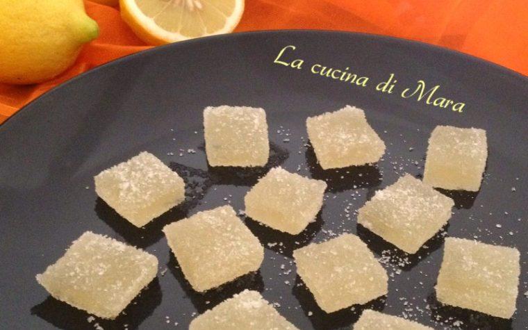 Caramelle gelée al limone