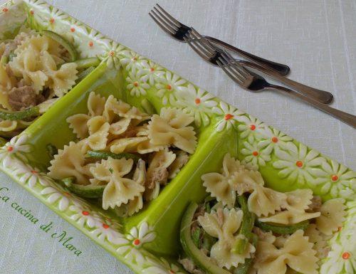 Pasta tonno e zucchine facilissima