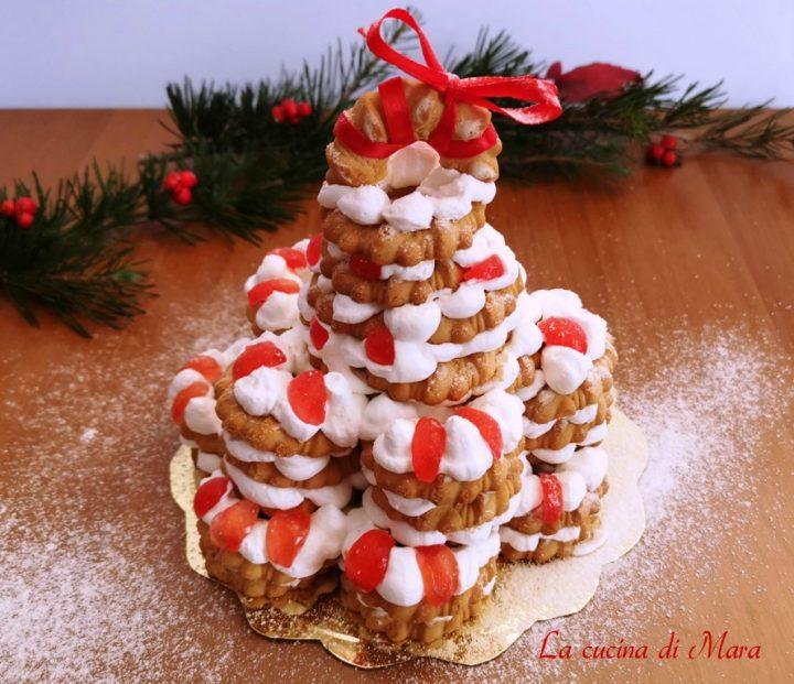 Albero Di Natale Con Biscotti Bucaneve.Alberello Di Bucaneve Pronto In 10 Minuti La Cucina Di Mara