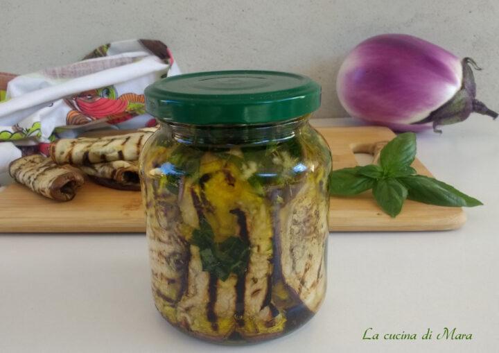 melanzane grigliate sott'olio: come prepararle e conservarle