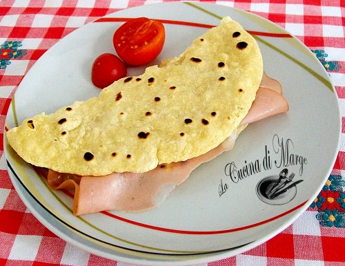 "Le piadine ""Romagnole"",ricetta veloce"