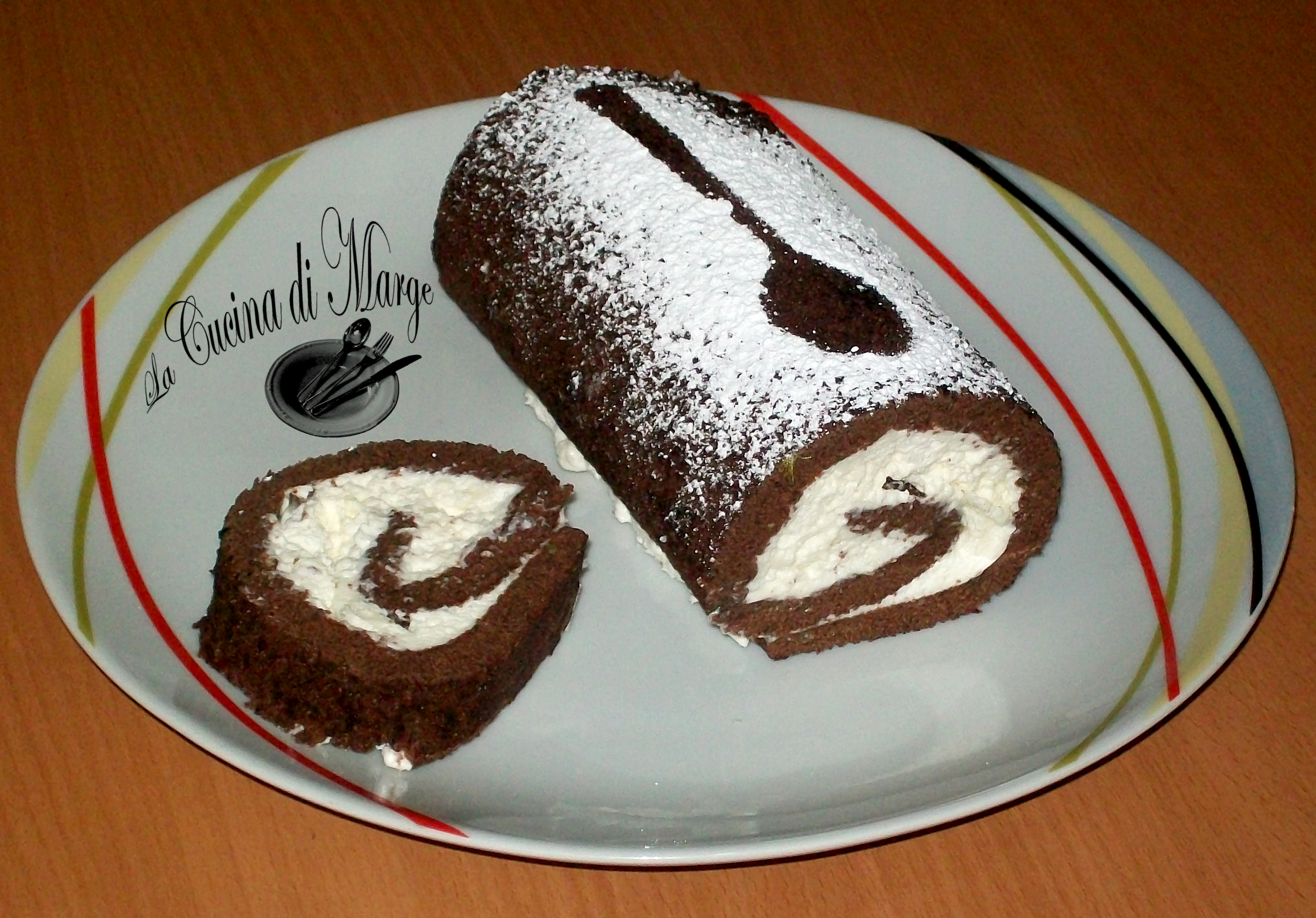Pan Spagna Cioccolatoso Con Crema Latte Condensato Panna Pictures