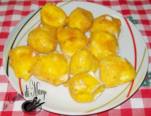 Mozzarella fritta,ricetta facile ,la cucina di Marge