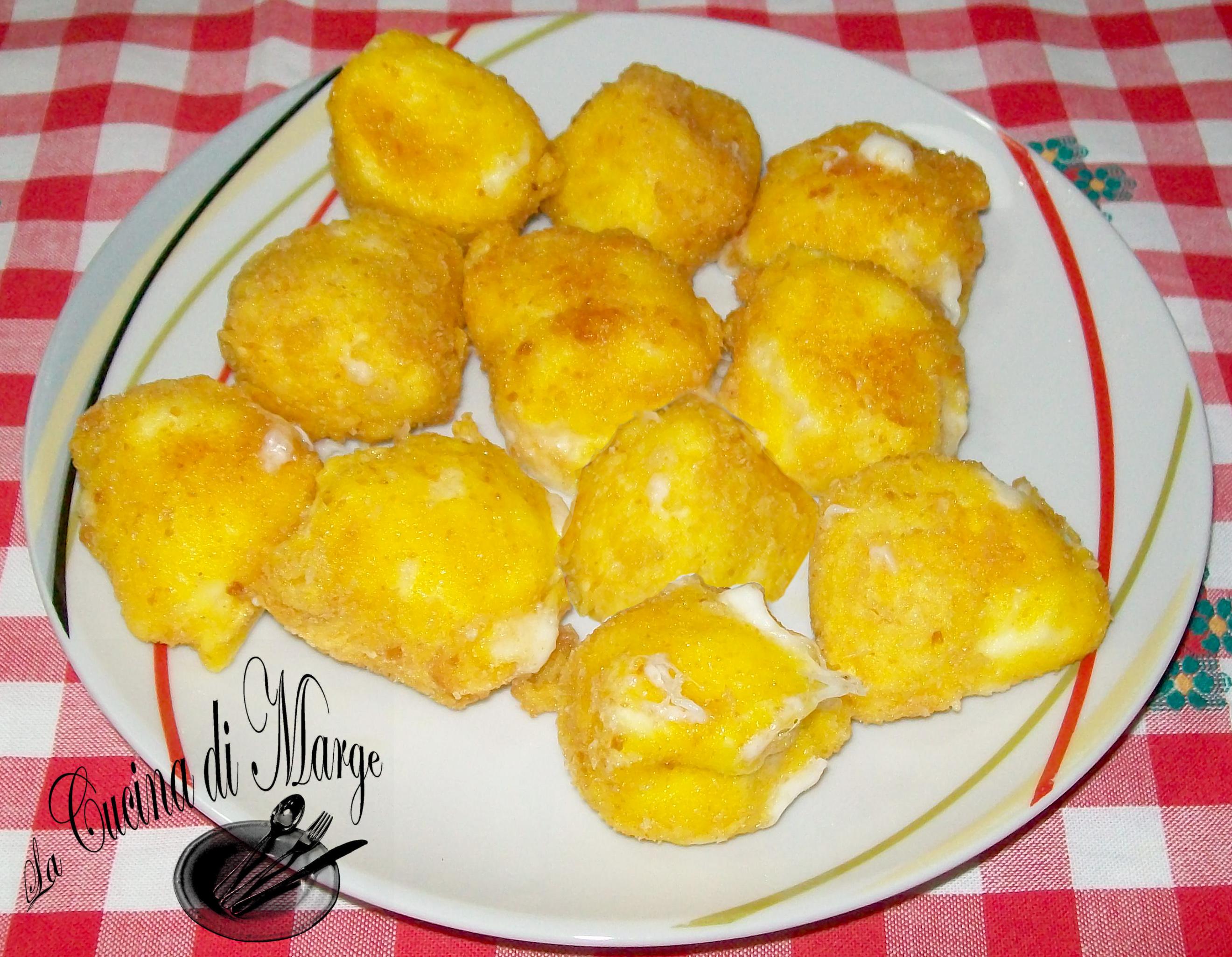 Mozzarella fritta ricetta facile lacucinadimarge for Cucina facile ricette