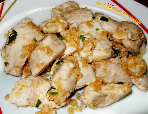 Straccetti di pollo,ricetta secondo piatto