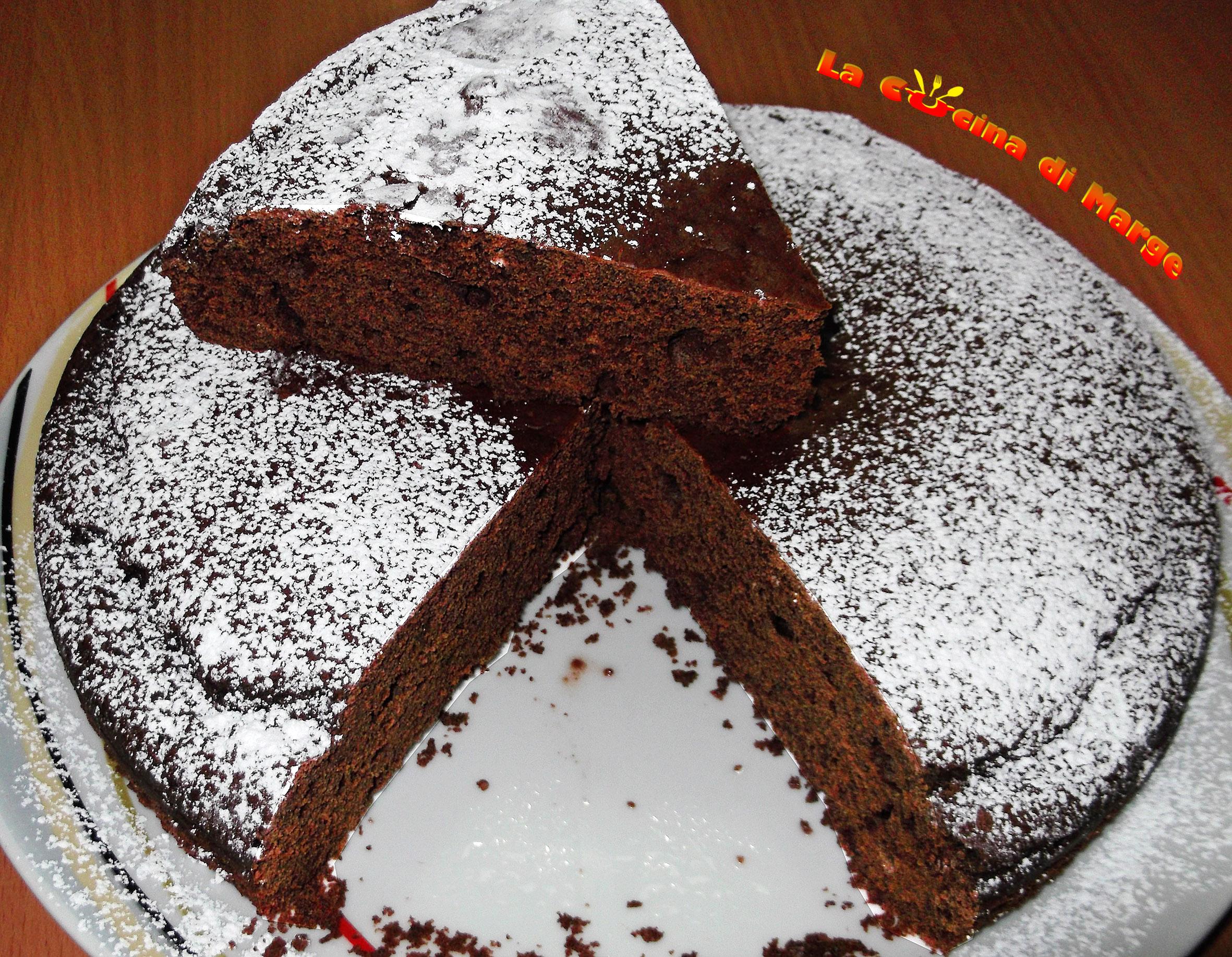 Ricetta torta cacao senza uova e burro
