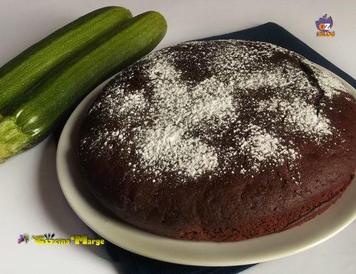 Torta  di zucchine e cioccolato -ricetta light