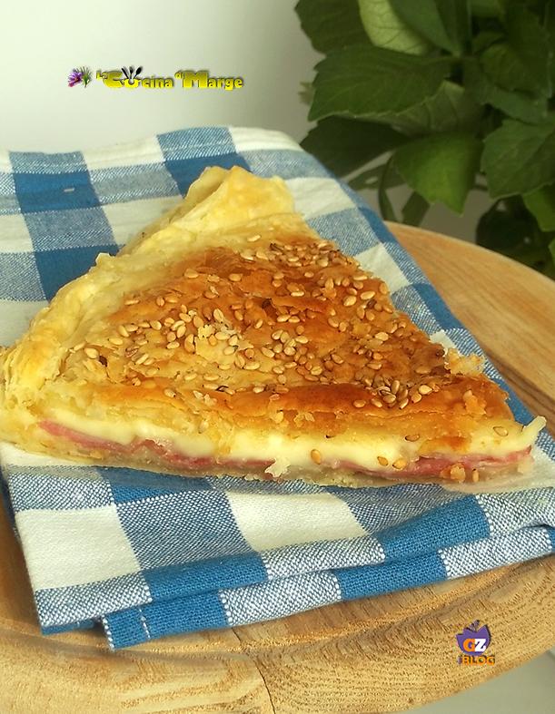 Torta rustica di sfoglia e zucchine in padella   La Cucina di Marge