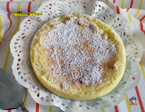 CHEESECAKE CON TRE INGREDIENTI