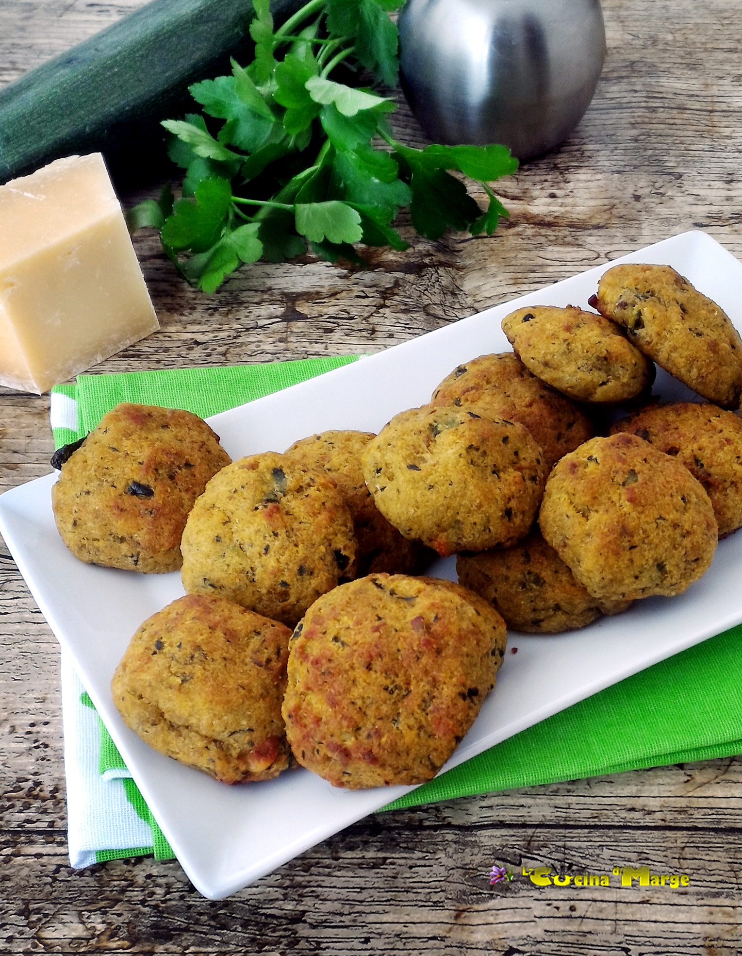Polpette Di Zucchine E Tonno La Cucina Di Marge