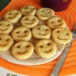 Smile patatine sorridenti,ricetta facile Marge