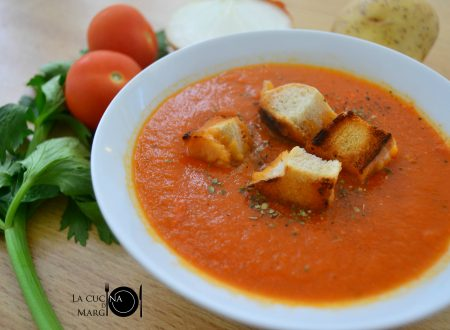 Zuppa di pomodoro – Ricetta con e senza il Bimby